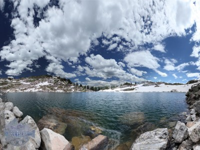 High Lake in Holy Cross Wilderness Area