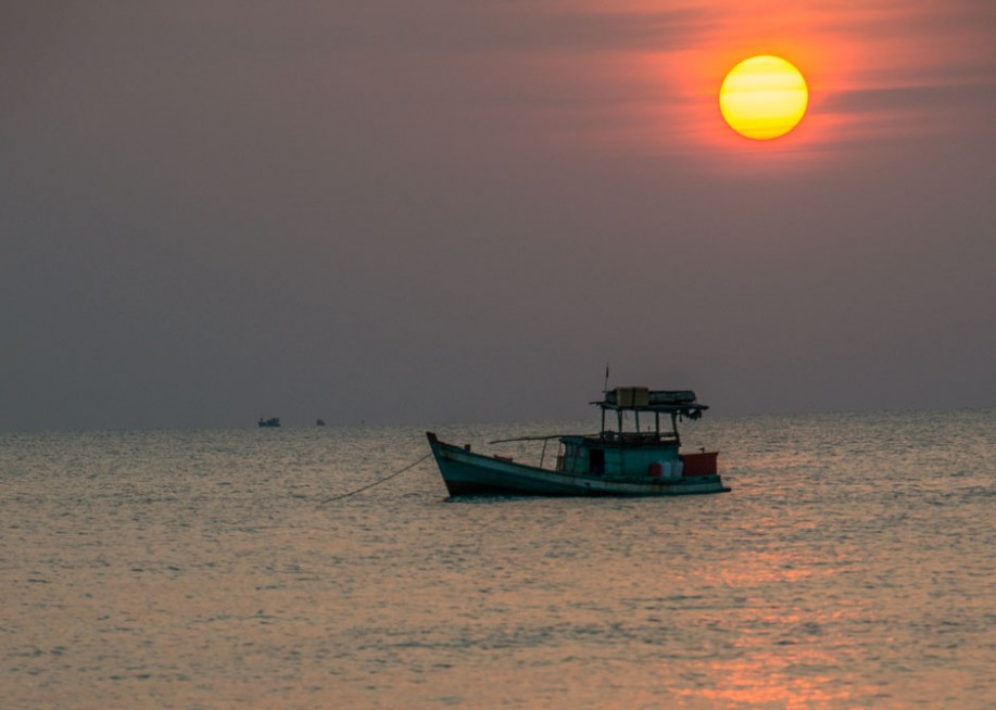 Sunset on Phú Quốc Vietnam